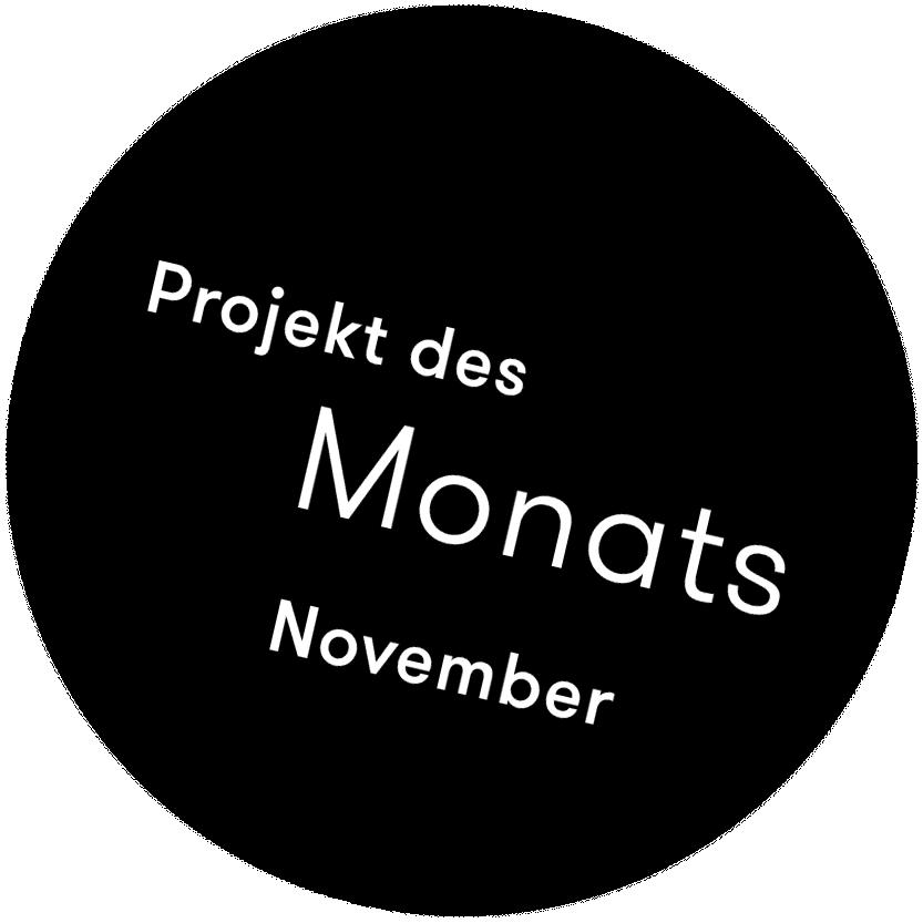 Projekt des Monats November