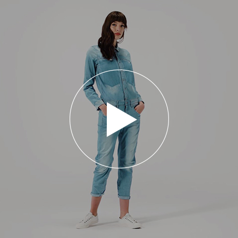 All Denim overall - Video