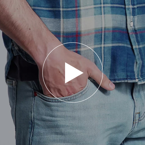 Light Denim, bold Checks - Video