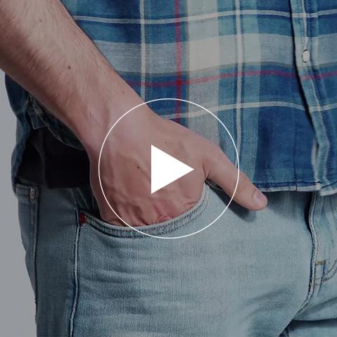 Light Denim, bold Checks - Video