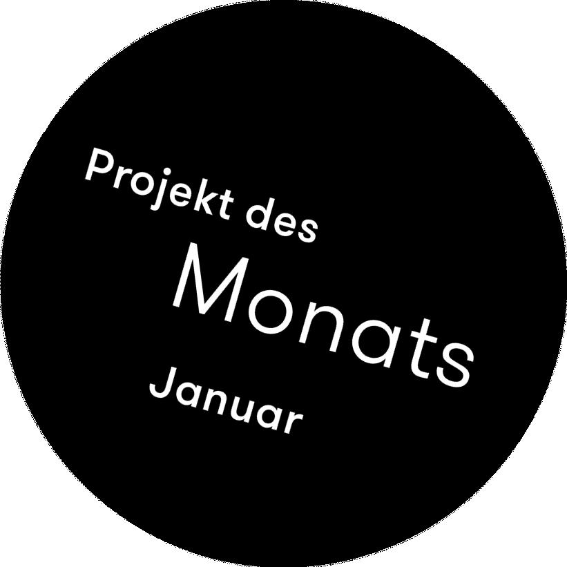 Projekt des Monats Januar